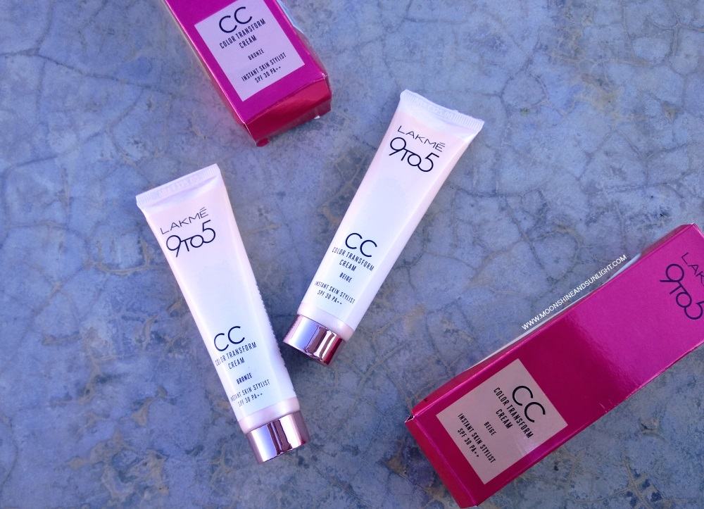 Lakme 9To5 CC Color Transform Cream Review