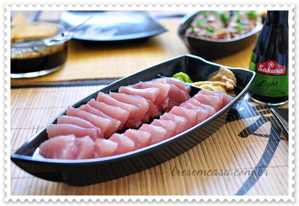 almoço japonês