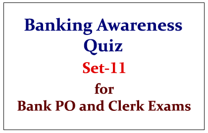 Important Banking Awareness Quiz set-11