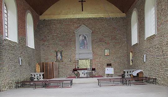 Zrekonstruowana barokowa kaplica św. Anny z 1722 roku na Górze Świętej Anny.