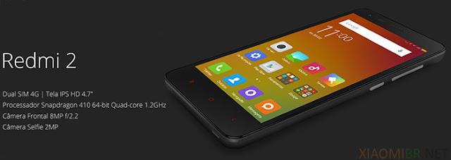 Xiaomi Redmi 2 - Preços e site oficial loja