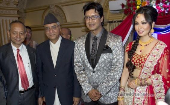 rajesh hamal and madhu bhattarai wedding, sher bahadur deuwa