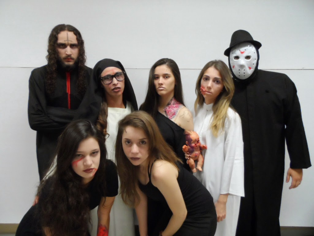 Equipe teatral do Cine Terror 6D