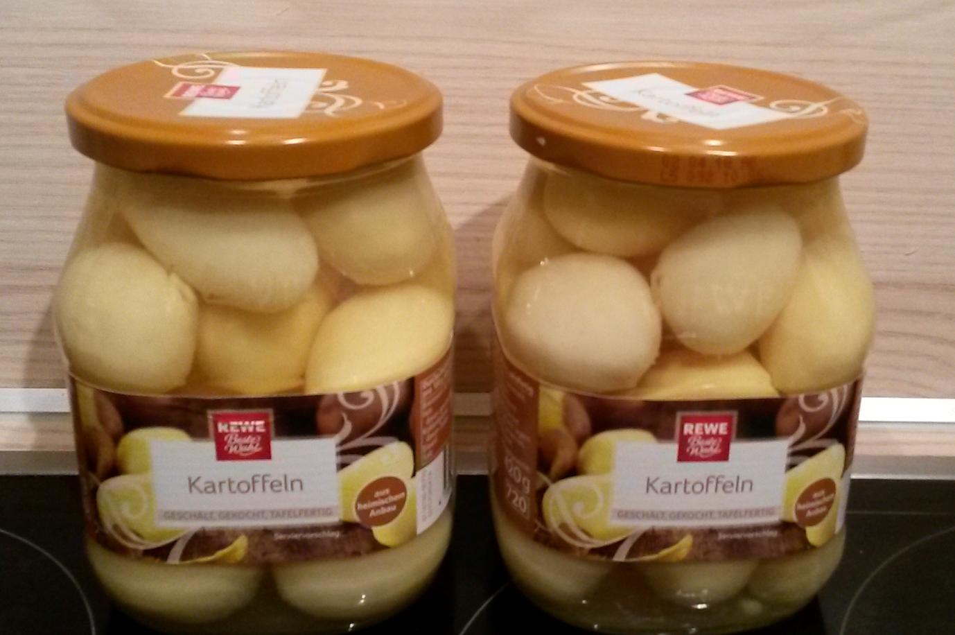 Kartoffeln Aus Dem Glas