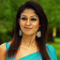 Nayantara lovely in saree
