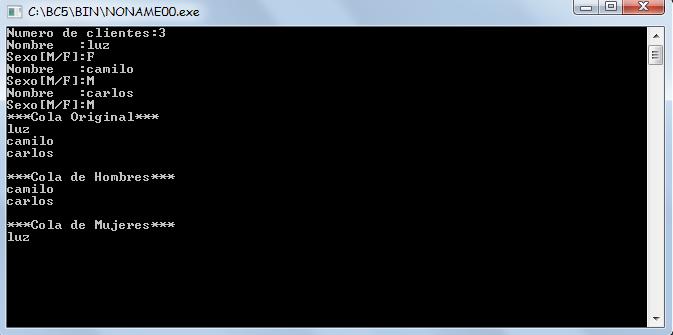 c++ - encolar y desencolar