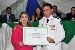 Comandante do 9º BPM recebe Título de Cidadania em Baraúna