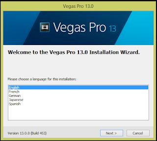 Cara Install Sony Vegas Pro 13 beserta patch
