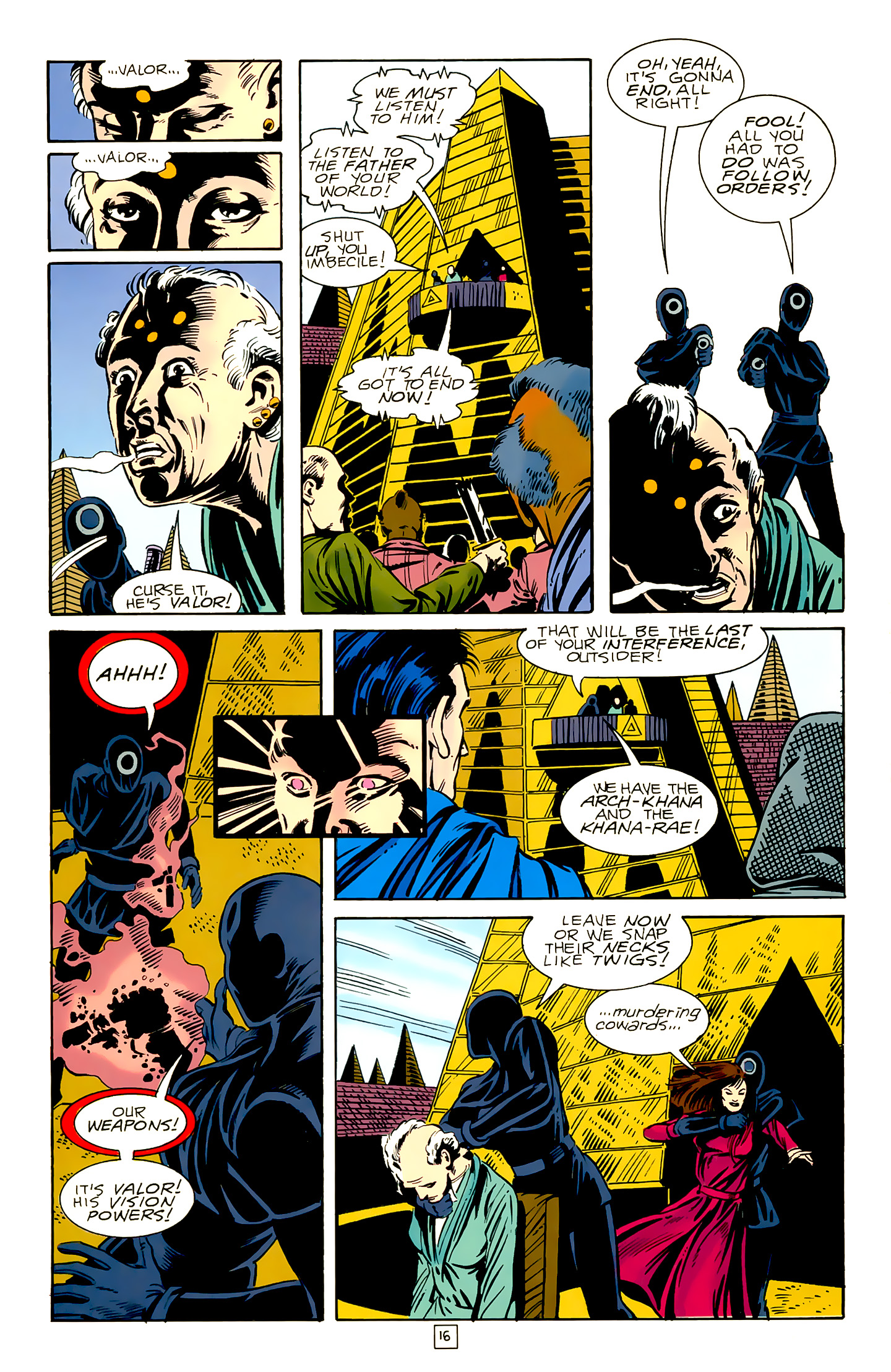 Legion of Super-Heroes (1989) 18 Page 16