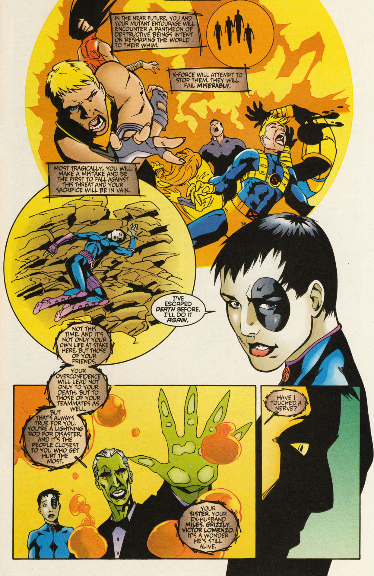 Read online X-Force (1991) comic -  Issue #92 - 21