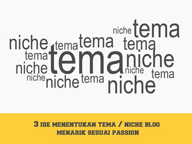3 ide menentukan tema blog sesuai passion