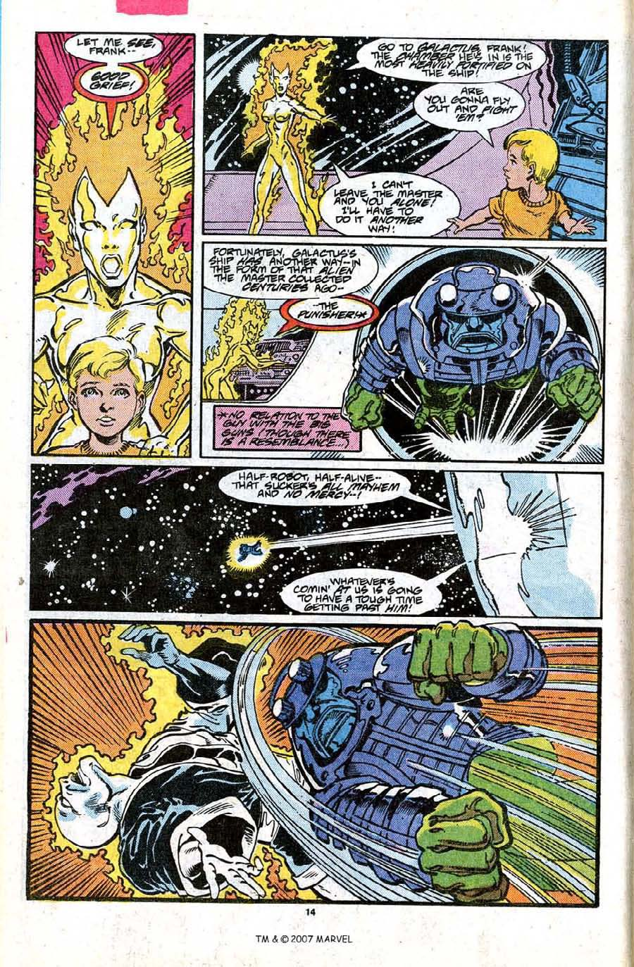 Read online Silver Surfer (1987) comic -  Issue #17 - 16