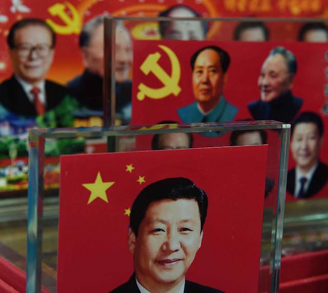 Agora o 'Big Brother' segue se chamando Xi Jin ping. Sobre tudo, a foice e o martelo seguem sendo os mesmos!!!