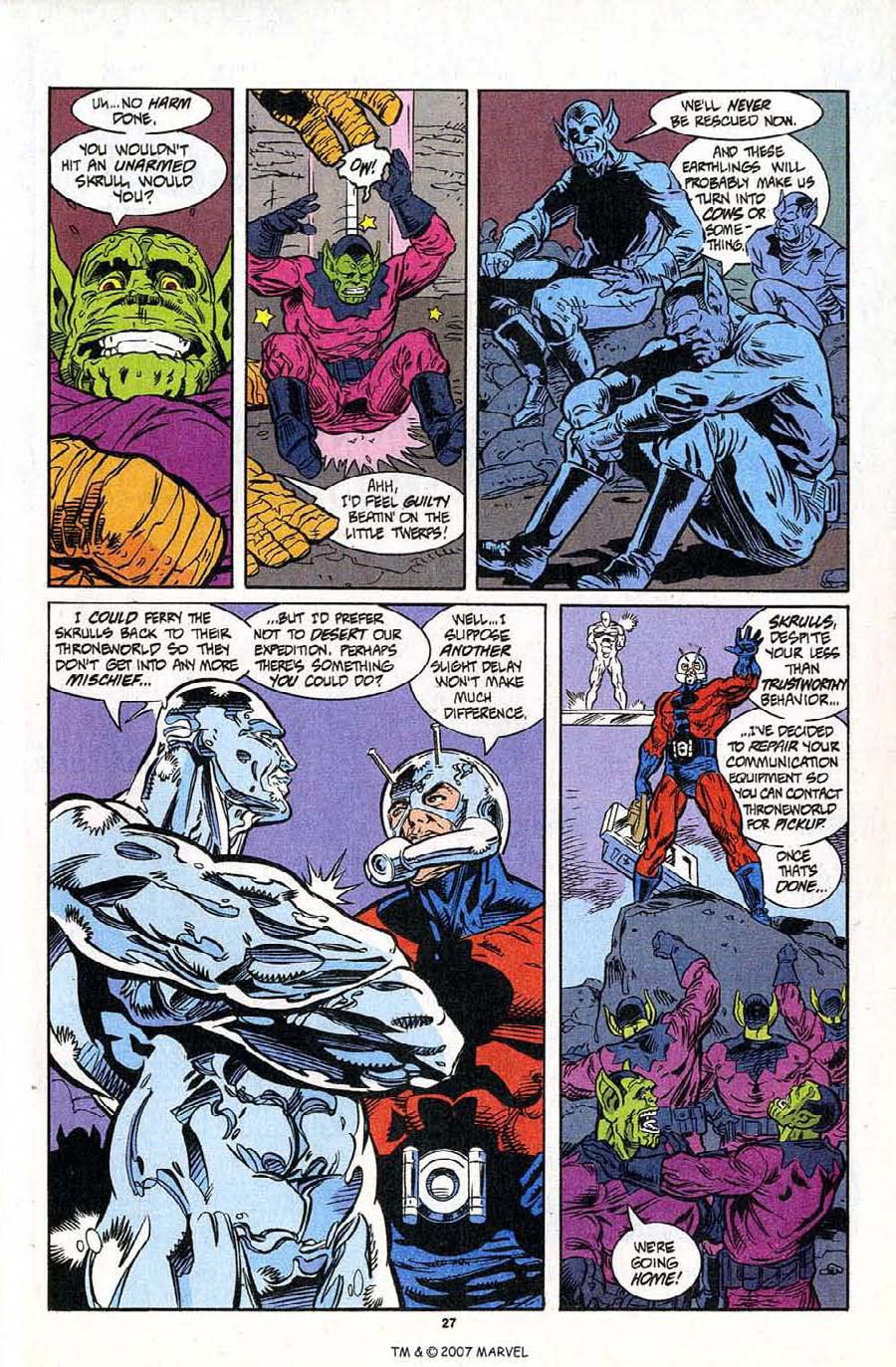 Read online Silver Surfer (1987) comic -  Issue #95 - 29