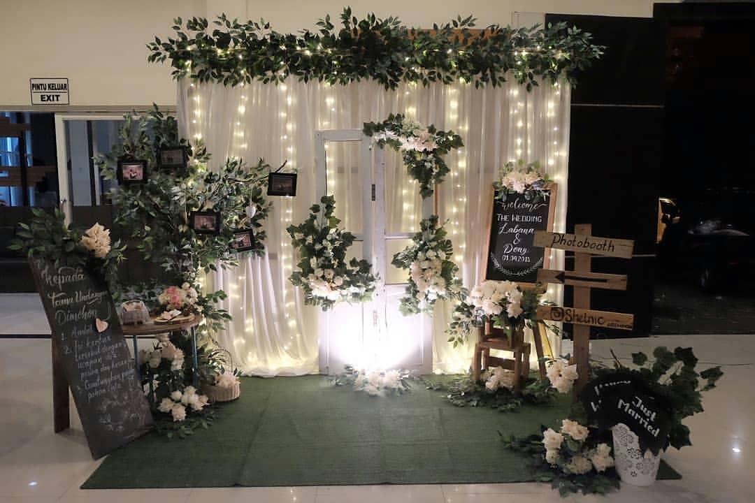 Dekorasi Potobooth Wedding Medan Wedding Organizer Medan