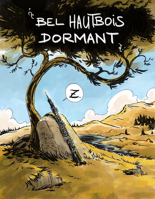 hautbois dormant conte musical musique LePueblo
