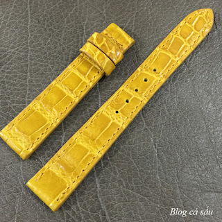 dây đồng hồ nữ da cá sấu 11
