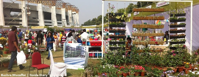 Noida Diary: Garden Shopping at 30th Noida Flower Show