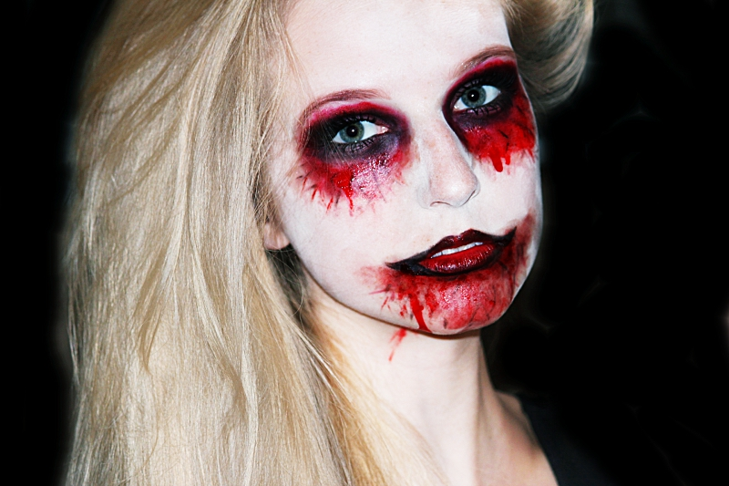 halloween zombie makeup tutorial. Black Bedroom Furniture Sets. Home Design Ideas