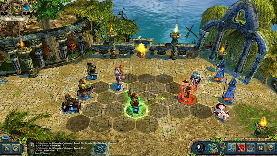 King's Bounty: Dark Side ScreenShot 02