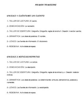 LENGUA CASTELLANA Y LITERATURA 1º ESO MATERIAL ADAPTADO