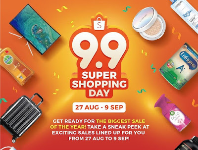 Promo 9.9 Super Shopping Day 2018