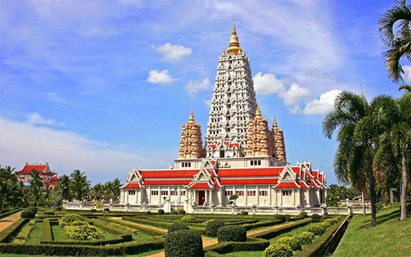 Đền Yannasangwararam Thái Lan