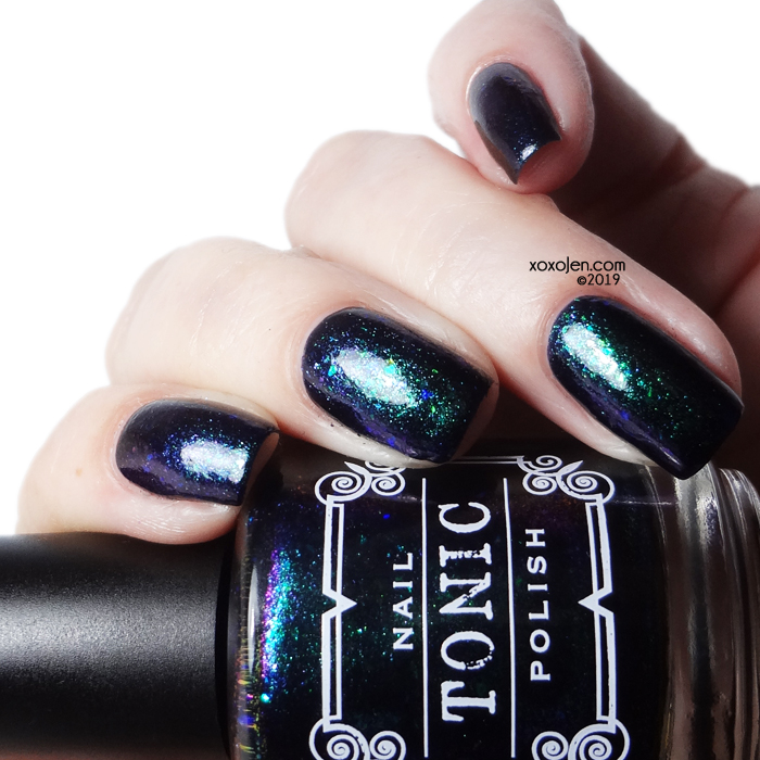 xoxoJen's swatch of Tonic Bat Out of Hell