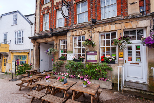 Historic Cotswold pub The Bull in Burford by Martyn Ferry Photography