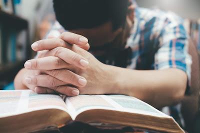 Humbly pray