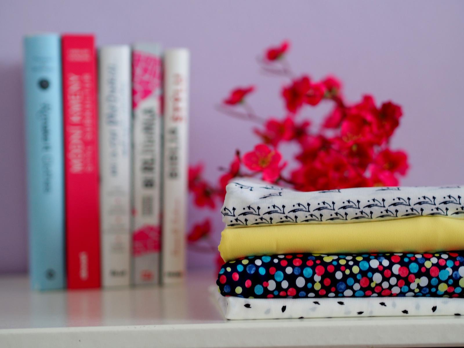 tailoring: material for summer collection 2018 // látky na nový letný šatník