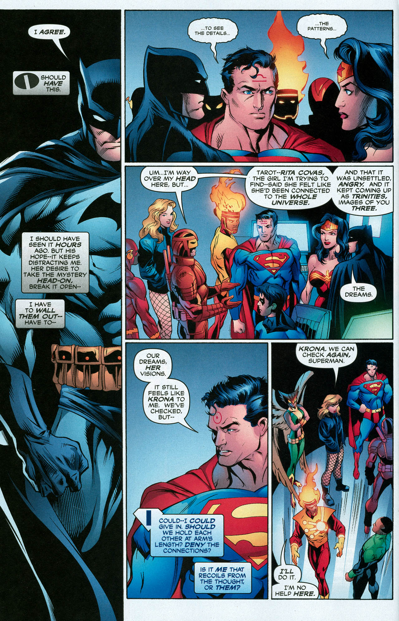 Read online Trinity (2008) comic -  Issue #15 - 10