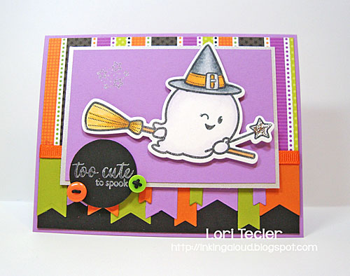 Too Cute to Spook card-designed by Lori Tecler/Inking Aloud-stamps from Waltzingmouse Stamps
