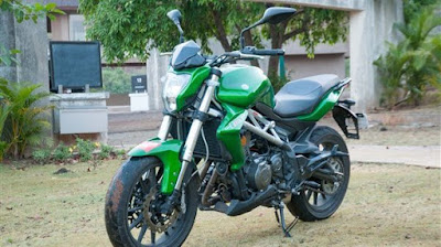 DSK-Benelli TNT 300 green color