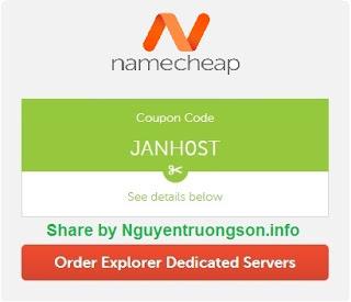 Dedicated server là gì? Mã giảm giá Dedicated server trên Namecheap