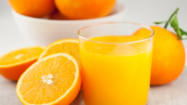 Orange Juice For Hair
