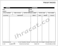 transportation invoice, nakliye faturası