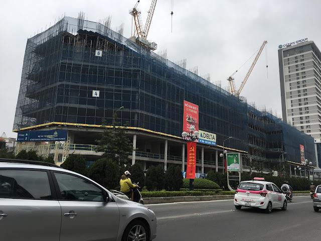 Tiến độ xây dựng chung cư The Golden Palm