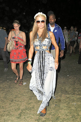 Coachella 2014 Paris Hilton