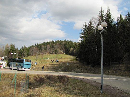 Spojrzenie z Przełęczy Glinne w kierunku Studenta