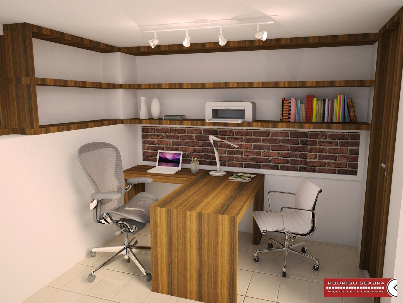 Decorating Ideas for Home Office with No Windows