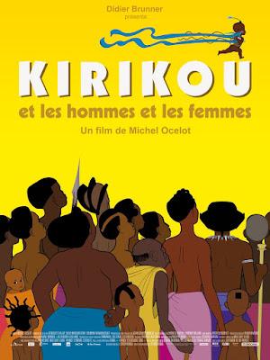 Cartel de la película Kirikú y los hombres y las mujeres