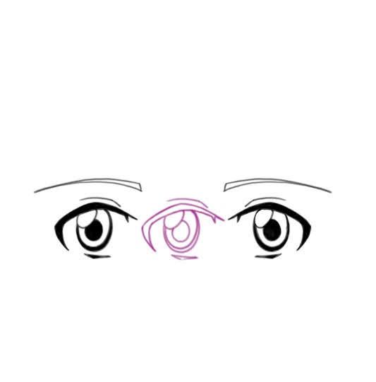 distance entre les deux yeux