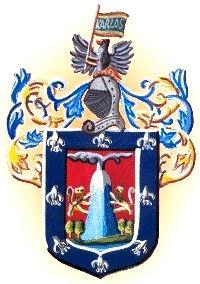Dibujo de Escudo de Armas de Arequipa a colores