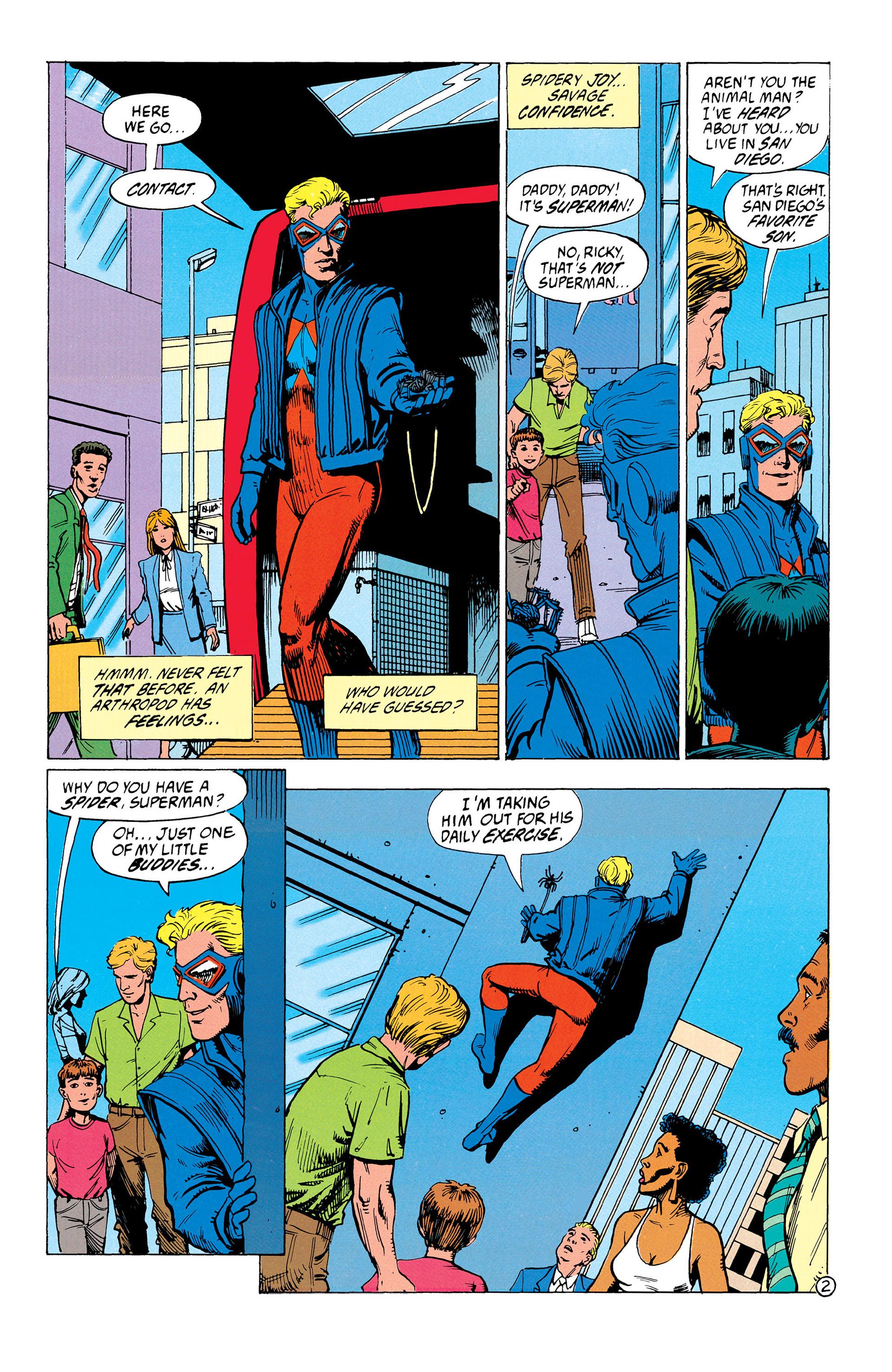 Read online Animal Man (1988) comic -  Issue #37 - 3