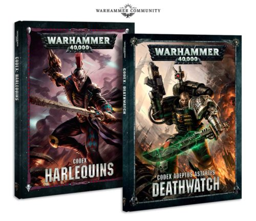 Two New Codices for May.... May's White Dwarf Preview