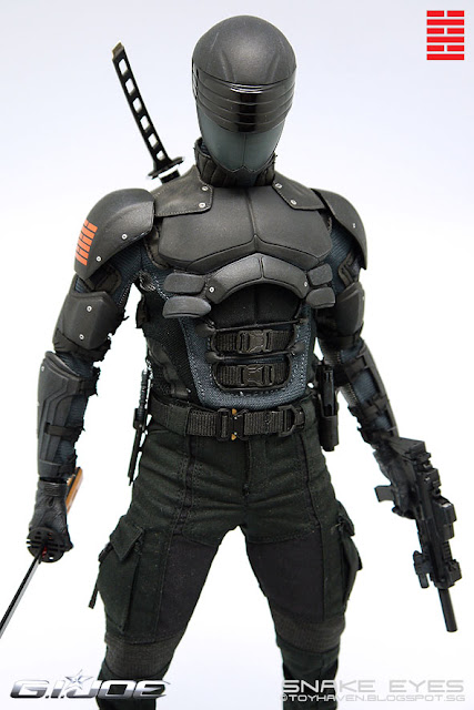 Real Snake Eyes Suit