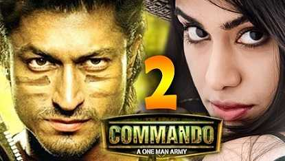Commando 2 (2017) 300mb Hindi Dubbed MKV HD