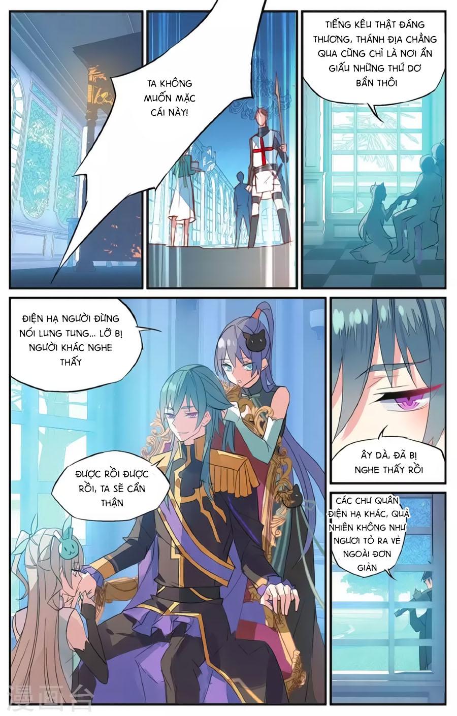 Nữ Nhân Dũng Cảm chap 60 - Trang 8
