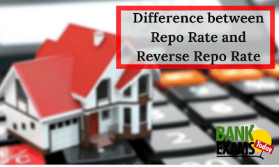 Difference between Repo Rate and Reverse Repo Rate